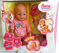 Пупс кукла Baby Born Бейби Борн 8001-3R Маленькая Ляля новорожденный с аксессуарами
