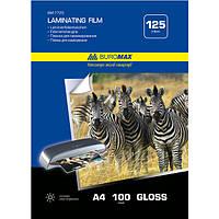 Пленка для ламинирования (216 * 303) 125мк 100л Buromax ВМ7725