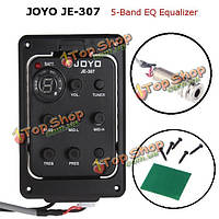JOYO JE-307 звукоснимателя гитары с 5-полосным эквалайзером