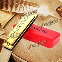 Changyao 10 луночное блюз гармонике ключ C