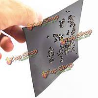 Магнитный коврик винтовые металлические детали адсорбции коврик для модели Сделай сам ремонт