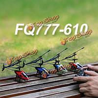 FQ777-610 воздуха весело 3.5ch RC РУ пульт дистанционного управления вертолетом с гироскопом RTF