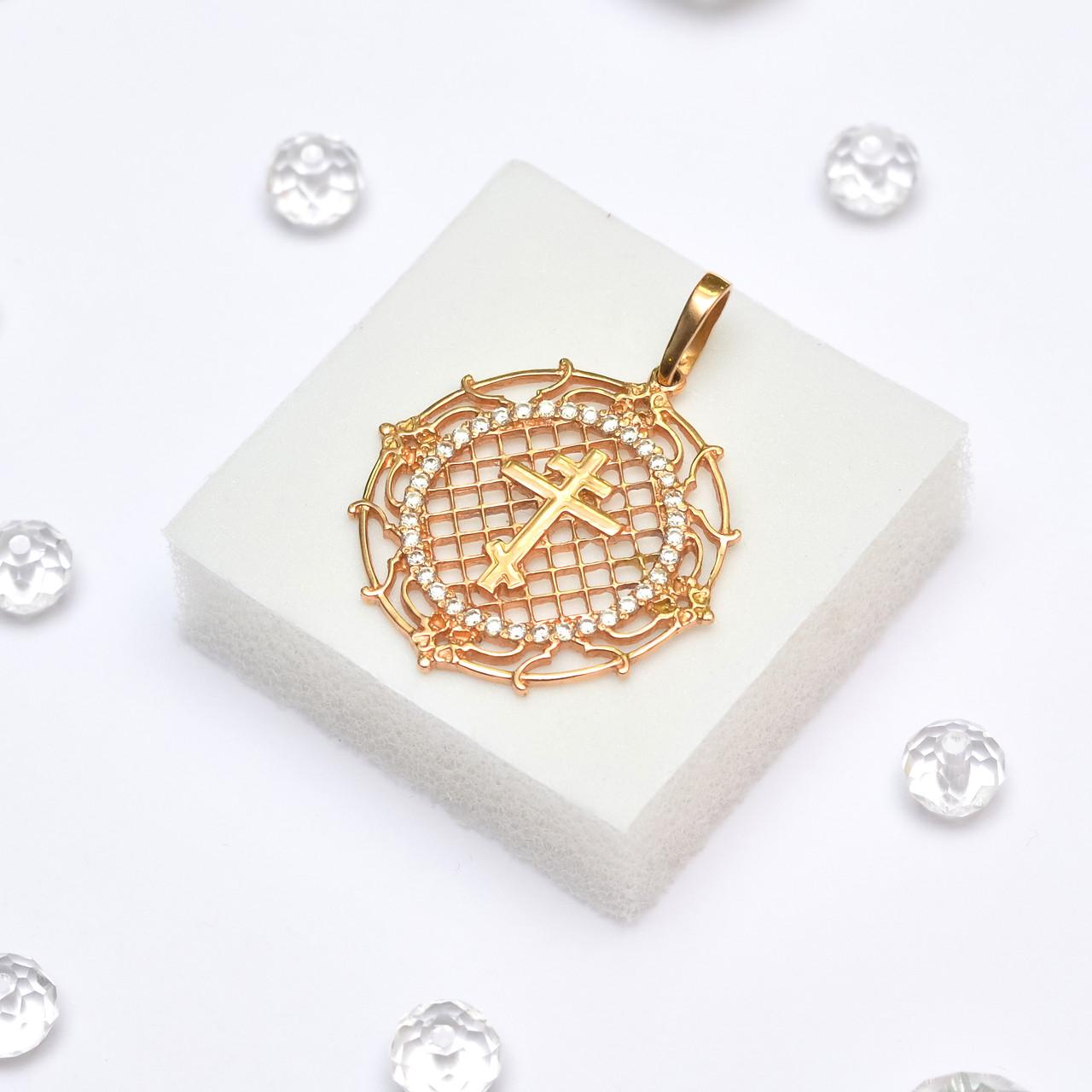 Золотой кулон 105789