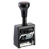 Нумератор автомат.пластмасовый  корпус  8-ми разрядный, 5,5 мм шрифт-antigue  REINER (В6К/8/5,5 antigue)