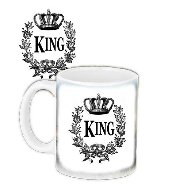 Кружка з принтом Король