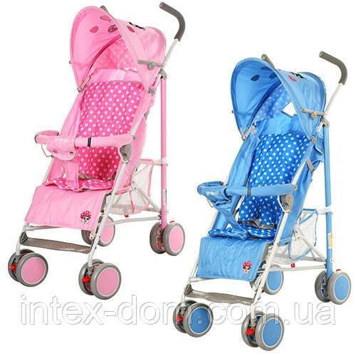 Детская коляска-трость 102-4-8P (Розовая) в разных цветах