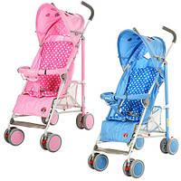 Детская коляска-трость 102-4-8P (Розовая) в разных цветах, фото 1