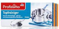 Губки для мытья посуды и нержавейки Denkmit Profissimo Topf 6 шт..