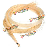 1 Хэнк 32-дюйма монгольской скрипки/Альта волос смычка из конского волоса белый