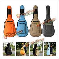 600D Оксфорд толщиной гитара мягкий чехол большой рюкзак водонепроницаемый мешок 40