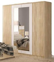 Шкаф 4Д Маркос NEW (Мебель-Сервис)  2008х581х2141мм дуб санома
