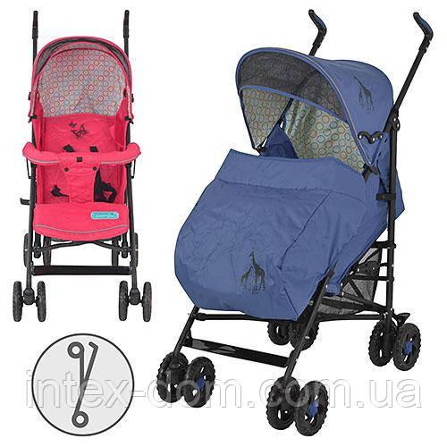 Детская коляска-трость BAMBI Animal World 1109-4-8B (Голубой)