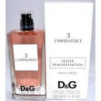 Тестер без крышечки духи женские  D&G Anthology L`Imperatrice 3 (Дольче энд Габана Императрица)