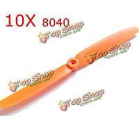 10X Gemfan 8040 прямого привода пропеллера для радиоуправляемых моделей