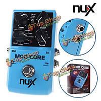 NUX мод основные гитарный эффект педаль 8 эффекты модуляции предварительно замок тон