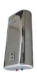 Бойлер настенный WILLER IVB80DR metal elegance , плоский, бак нержавейка, сухой тэн 2*800 W