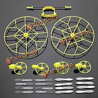 Защита колеса Вт/ 4 пары гребных винтов для cheerson СХ-СХ 10-10А jj810 jj820 РЦ quadcopte