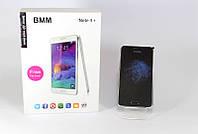 """Смартфон NOTE4+ 4.7"""" Black, мобильный смартфон bmm черный, сенсорный телефон на 2 сим карты"""