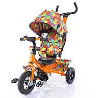 Велосипед трехколесный TILLY Trike  с надувными колесами Orange
