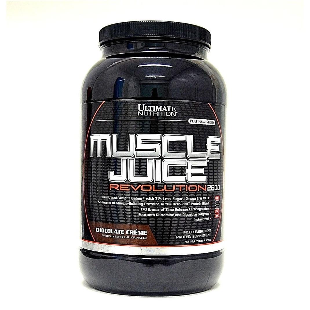 Гейнер Muscle Juice Revolution 2600 Ultimate Nutrition (2.12 кг)
