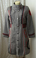Пальто модное шерсть Rosalita Mc Gee р.48 7135
