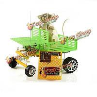 Поделки электрический пульт дистанционного управления грузовик игрушка обучающие сборка модели для детей