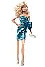 Коллекционная кукла Барби Сияние города синие платье Barbie look city shine