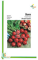 Семена Редиса Сора (мелкая фасовка)10гр