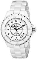 Часы женские Chanel Ceramic J12. Класс: ААА. Кварц.
