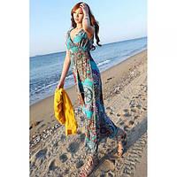 Длинный женский сарафан