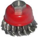 """Щетка """"Чашка"""" стальная, закрученная Technics (17-916) 65мм (шт.)"""
