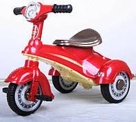 Эл-мобиль T-711 RED мотороллер 6V4AH 68*45*51