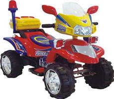 Детский квадроцикл   RED-YELLOW  с MP3