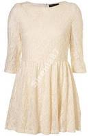 Стильное кружевное платье-туника №26