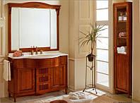 Тумба для ванной с зеркалом