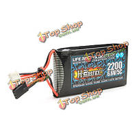 H-энергия 6.6v 2200мАh 5c жизненная батарея для futaba 14sg t8j t6j 4pksr 4pls