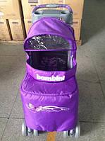 Прогулочная коляска  NEON violet butterfly