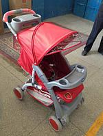 Прогулочная коляска  NEON red strawberry