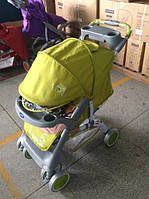 Прогулочная коляска  NEON green elephant