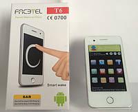 """Смартфон T6 Facetel Android 3.5"""" 1н, сенсорный моноблок на 2 сим-карты, мобильный телефон 2 камеры"""