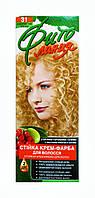 Стойкая крем-краска для волос Фито линия № 31 Золотистый блонд
