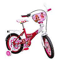 Велосипед 2-х колес 16'' 151601 со звонком, зеркалом