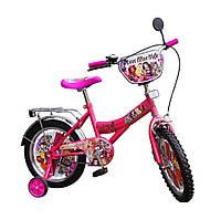 Велосипед 2-х колес 16''  151614 со звонком, зеркалом