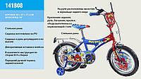 """Велосипед 2-х колес 18""""  141808 со звонком, зеркалом"""