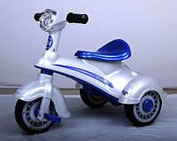 Эл-мобиль T-711 WHITE мотороллер 6V4AH 68*45*51