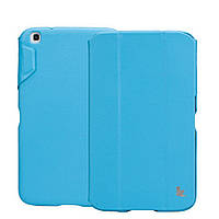 "Чехол-книжка JISONCASE Premium Leatherette Smart Case for Samsung Galaxy Tab 3 8"" Blue (JS-S31-03H40)"