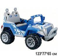 Электромобиль BT-BOC-0058 BLUE джип на р.у. 2*6V7Ah 123*77*65