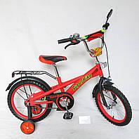 """Велосипед 2-х колес 18 """" 151803  со звонком, зеркалом"""
