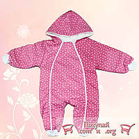 Спальник с сердечками для малышей Возраст: 3- 6 месяцев (4662-1)