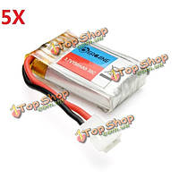5X 3.7v 150мАh Lipo батарея для Eachine H8 H8S 3D Mini RC РУ Квадрокоптер